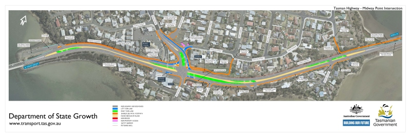 Design plan for Midway Point Intersection Solution