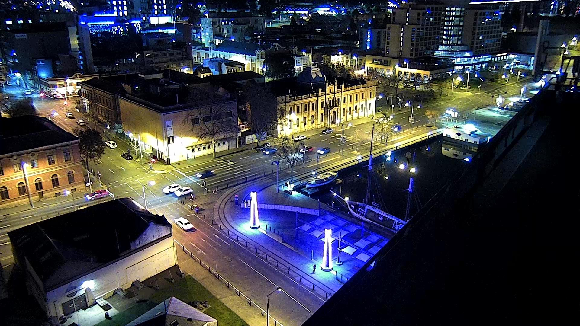 Junction of Davey and Argyle St, Hobart